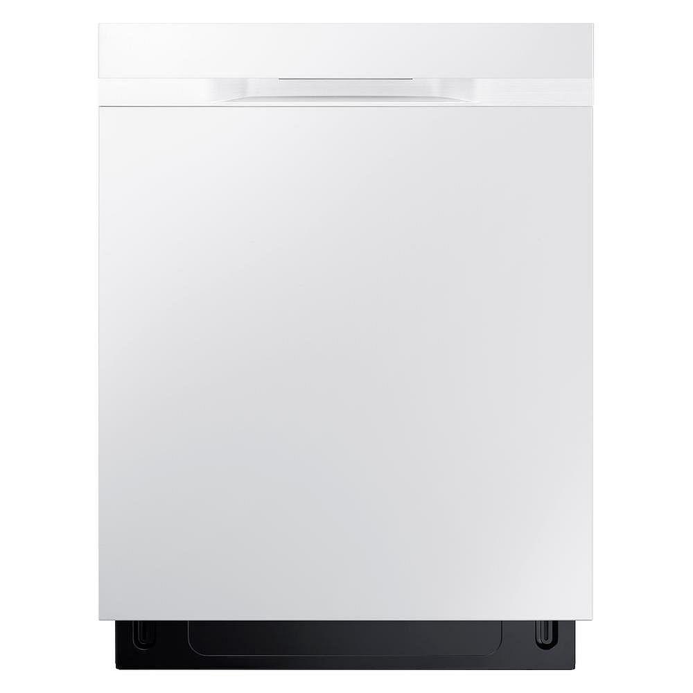 Samsung Lave-vaisselle 24 pouces Top Control en acier inoxydable noir avec cuve en acier inoxydable - ENERGY STAR®, 48 dBA