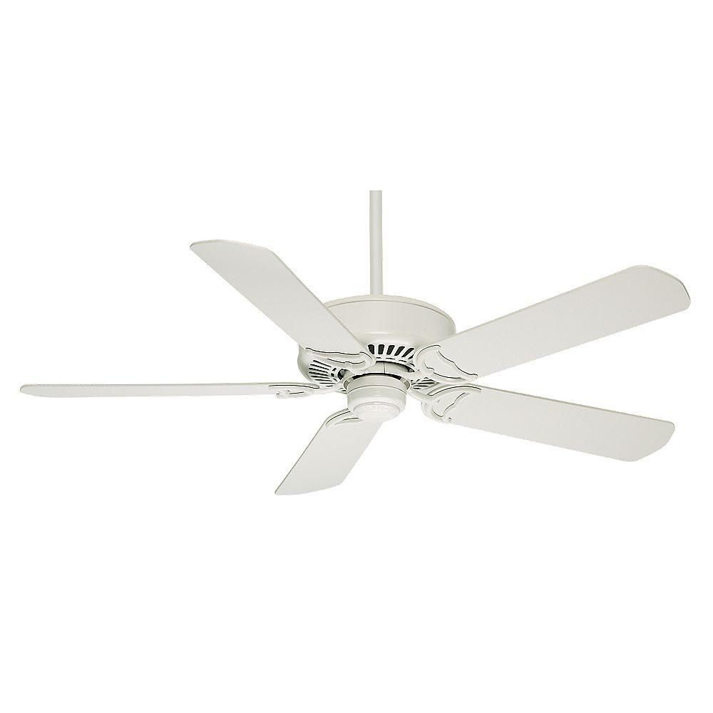 Casablanca Panama DC 54-inch Indoor Snow White Ceiling Fan with Remote