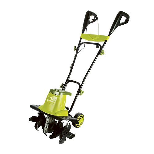 13.5-Amp 16-inch Electric Tiller/Cultivator with 5.5-inch Wheels