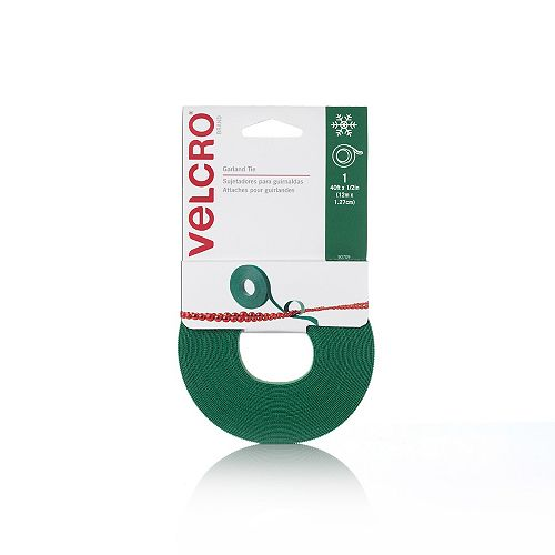 40 ft. x 1/2-inch Holiday Garland Tie