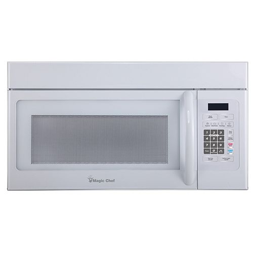 1.6 Cu. Ft. Over the Range Microwave White