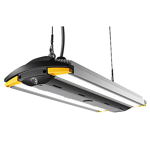 2 ft. Anodized Aluminum LED Garage Light with Occupancy Sensor