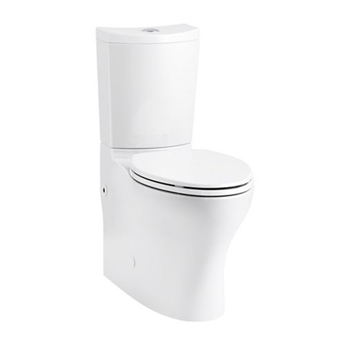 Persuade Curv 2-Piece 1.6/1.0 GPF Dual Flush Elongated Toilet in White