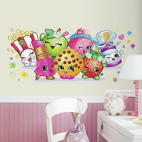 RoomMates Stickers Muraux SHOPKINS GIANT DECAL