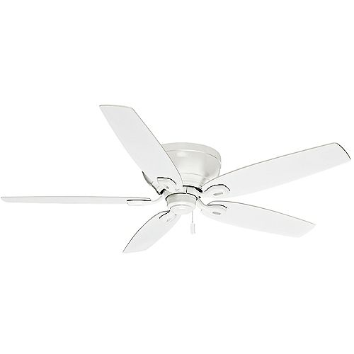 Durant 54-inch  Snow White Indoor Ceiling Fan