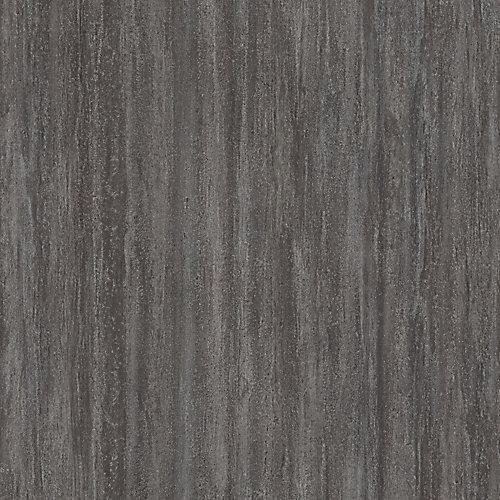Échantillon - Carreau de revêtement au sol, vinyle de luxe, 16 po x 32 po, gris Catalina