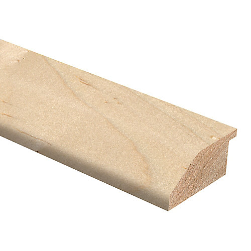 Maple Natural 3/4-inch Thick x 1 3/4-inch Wide x 72-inch Length Hardwood Reducer Molding