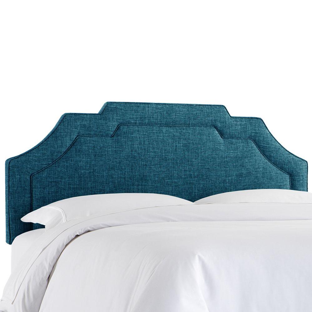 Skyline Furniture Tête de lit rembourrée complet en zuma marine