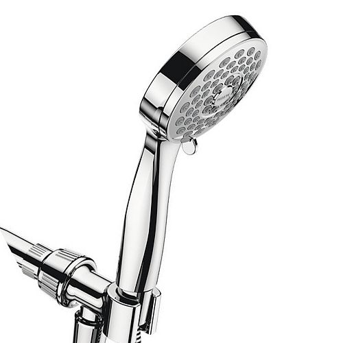 Eos 3-Spray 3.8-inch Single Wall Mount Handheld Shower Head in Chrome