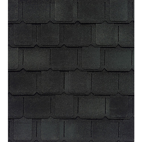 Camelot II Charcoal Value Collection Lifetime Shingles (25 sq. ft. per Bundle)