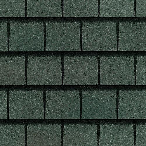 Slateline Emerald Green Value Collection Lifetime Shingles (33 sq. ft. per Bundle)