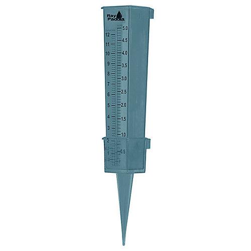 2-en-1 pluviómetro lujo