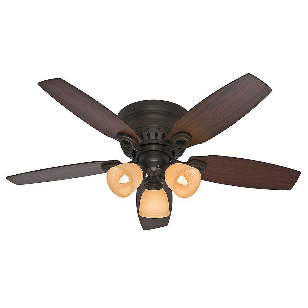 Hunter Nouveau ventilateur de plafond intérieur Hatherton 46 pouces en bronze