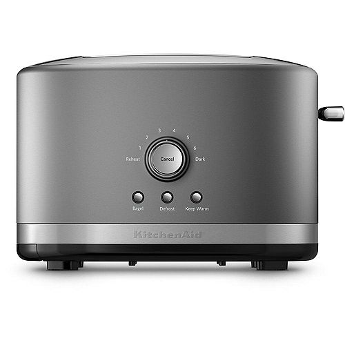 2-Slice Toaster With High Lift Lever in Contour Silver