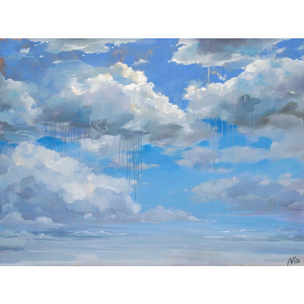 Ren-Wil Cirrus Canvas Art