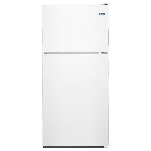 33-inch W 21 cu. ft. Top Freezer Refrigerator in White