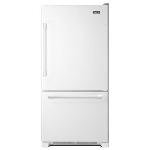 30-inch W 18.6 cu.ft. Bottom Freezer Refrigerator in White - ENERGY STAR®