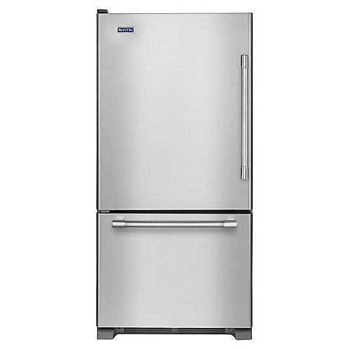 30-inch W 18.6 cu.ft. Bottom Freezer Refrigerator in Stainless Steel - ENERGY STAR®