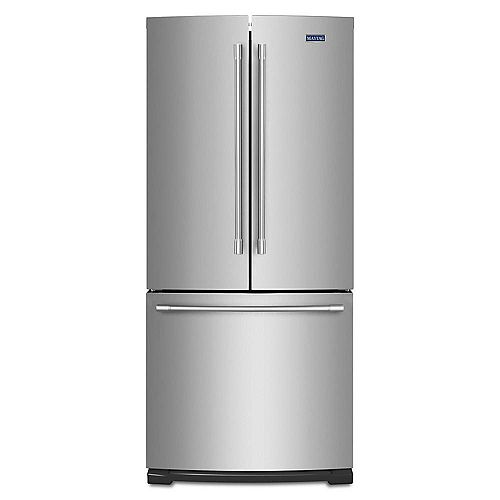 30-inch W 20 cu. ft. Bottom Freezer Refrigerator in Fingerprint Resistant Stainless Steel