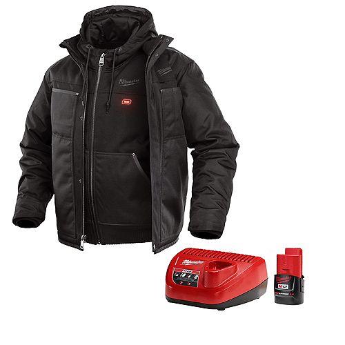 M12 Heated 3-in-1 Jacket Kit - Black - XL