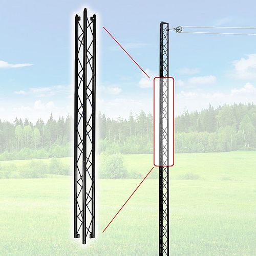 Extension de 48-po pour Poteau de corde à linge