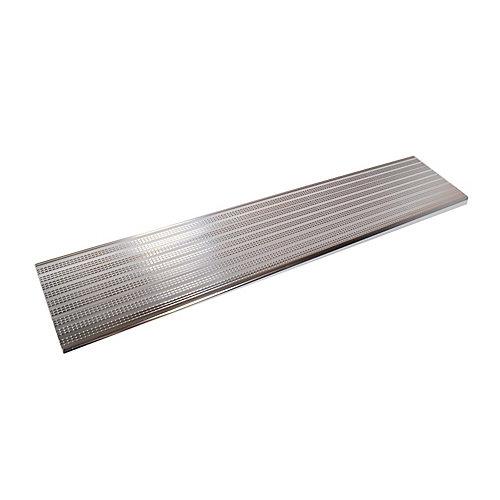 Collection 10_Marche en Aluminium Argent Brillant - 60 po x 9 ¾ po