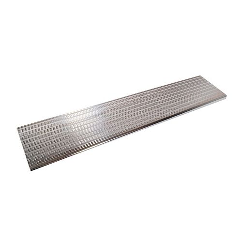 Collection 10 - Aluminium Stair Tread Shiny Anodised - 60 in x 9 ¾ in