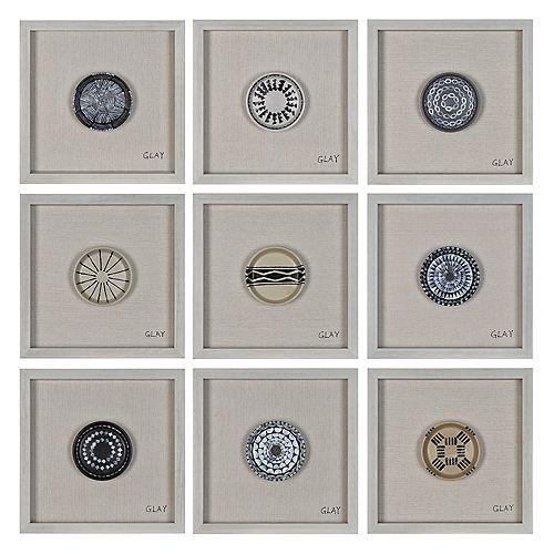 Buttons Wall Décor