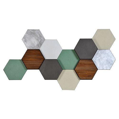 Hexa Pastel Wall Décor