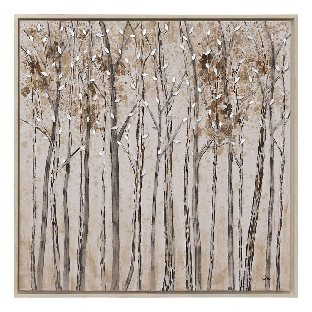 Notre Dame Design Winter Walk Canvas Art