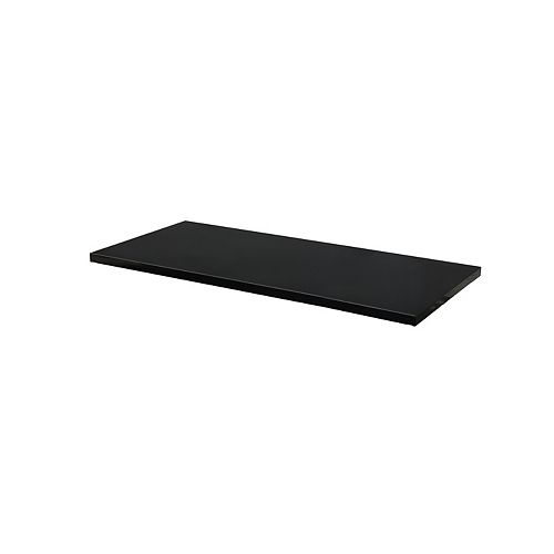 28-inch W x 1-inch H x 9-inch D Steel Shelf for 28-inch Wall Cabinet (2-Pack)