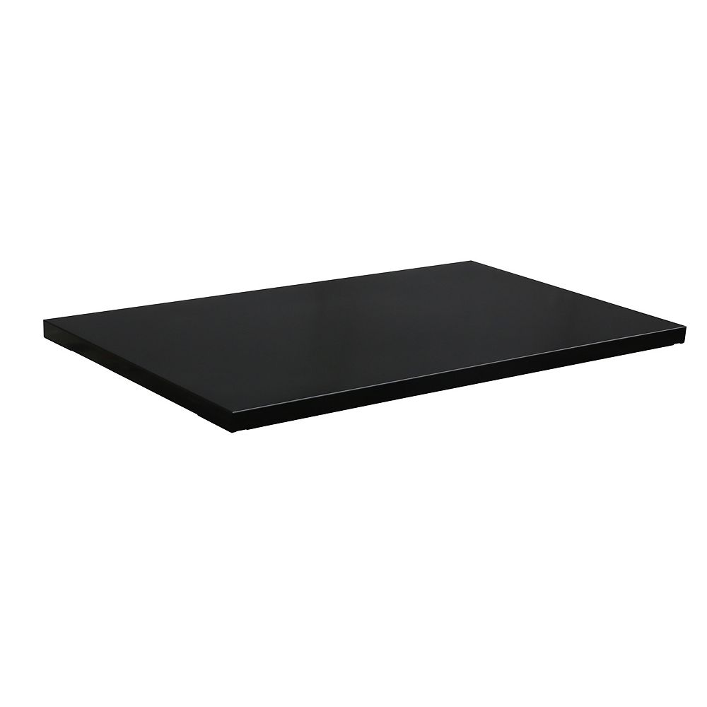 Husky 36-inch W x 1-inch H x 15-inch D Steel Shelf Set for 36-inch Tall Garage Cabinet (2-Pack)