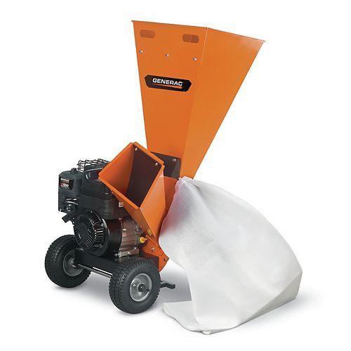 3-inch Gas Powered Chipper Shredder