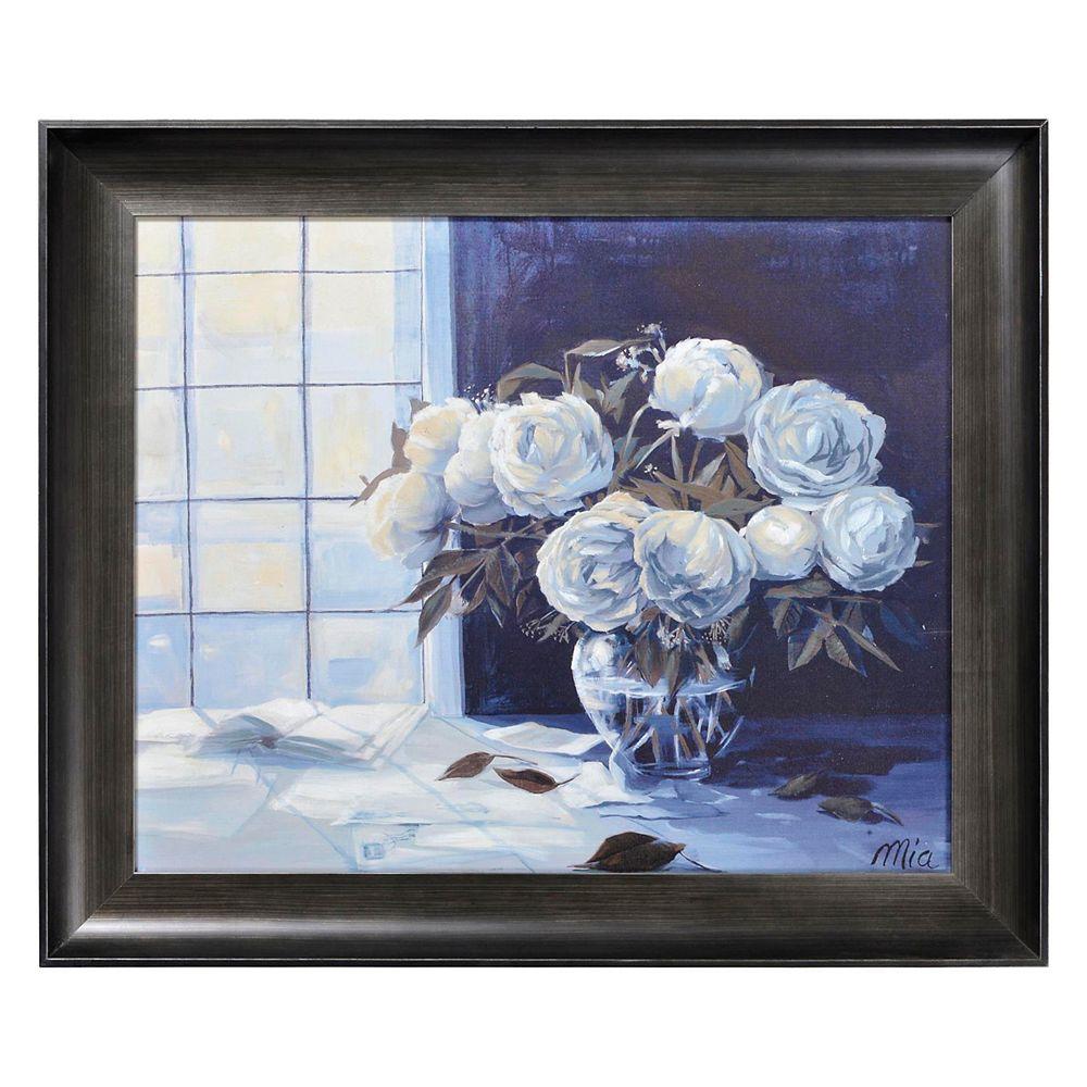 Ren-Wil White Wonders Canvas Art