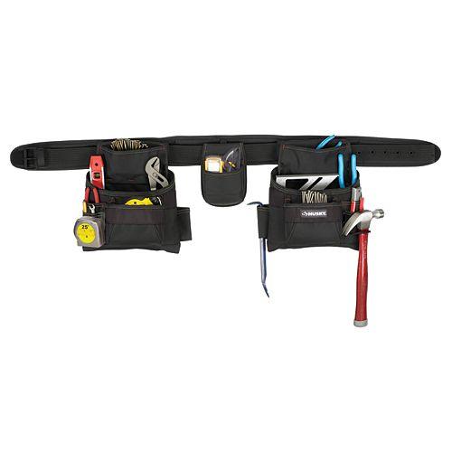 Husky 17-Pocket Pro Contractor Apron