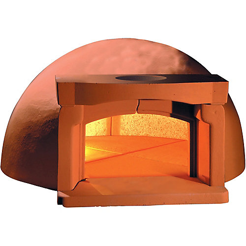 Traditional 110 Pizza Oven with Vent & Base