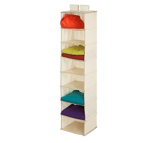 8-Shelf Hanging Natural TC Organizer