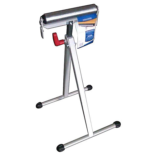43-inch Steel Roller Stand with Edge Guide