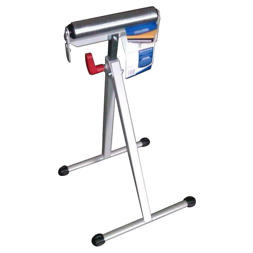 HDX 43-inch Steel Roller Stand with Edge Guide