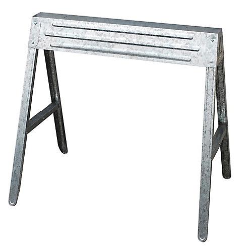 1-Compartment Folding Steel Sawhorse