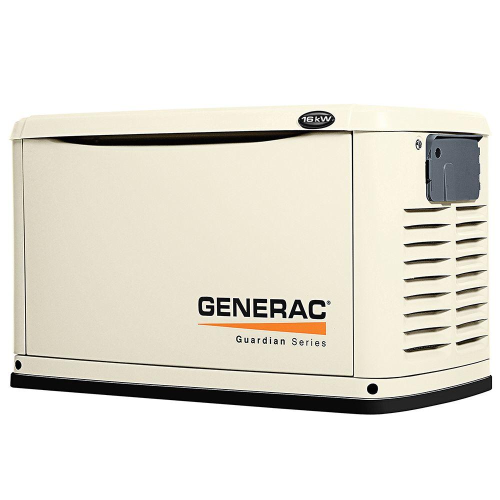 Generac 16,000 Watt Automatic Steel Standby Generator