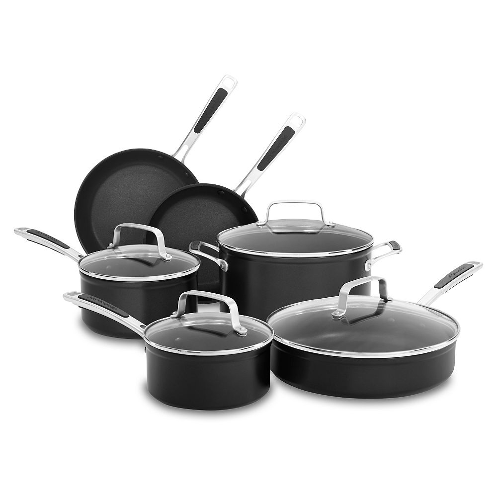 KitchenAid Hard Anodized Non-Stick 10-Piece Set
