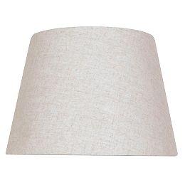 Abat-jour de lampe de table Rond Beige Mix & Match 15 po x 10,5 po