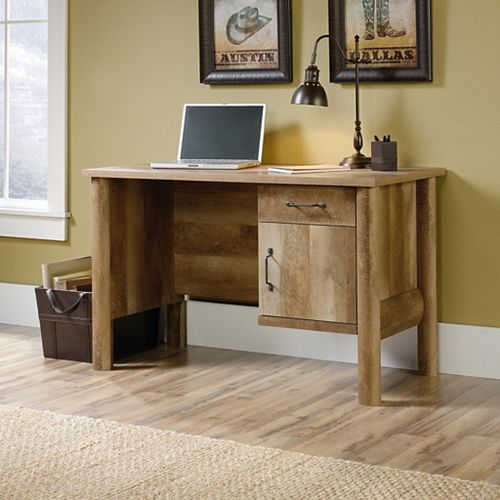 Boone Mountain Desk in Craftsman Oak