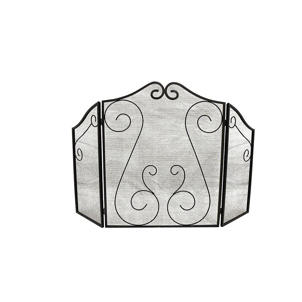 ShelterLogic Hearth Accessories Fireplace Scrollwork Screen