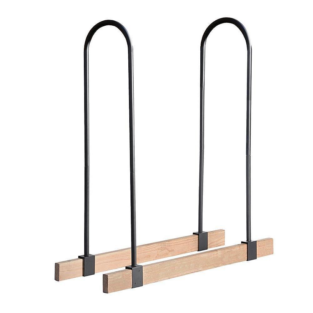ShelterLogic Lumber Rack Firewood Adjustable Brackets