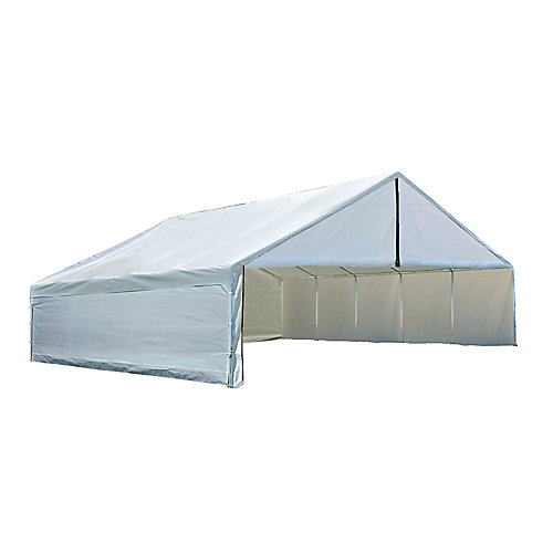 Ultra Max 30 ft. x 30 ft. White Industrial Canopy