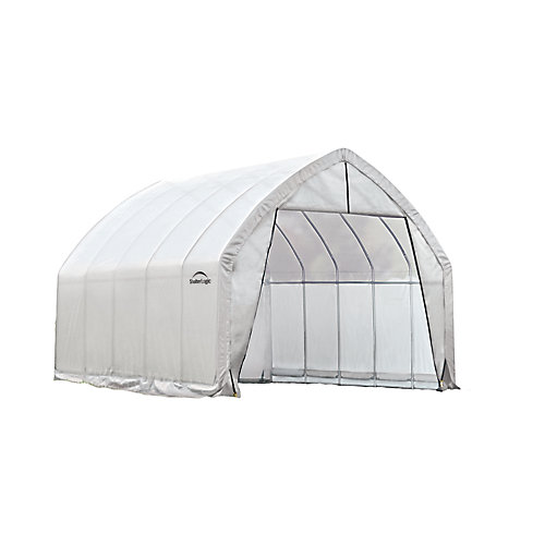 GrowIt 13 ft. x 20 ft. x 12 ft. High Arch Greenhouse