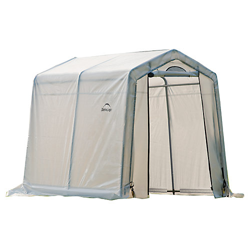 GrowIt Greenhouse-In-A-Box 6 ft. x 8 ft. x 6 1/2 ft. Easy Flow Peak-Style Greenhouse