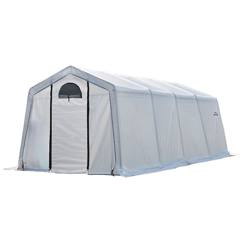 ShelterLogic 3 m x 6 m x 2,4 m Serre GrowIt Greenhouse-In-A-Box circulation facile style pic
